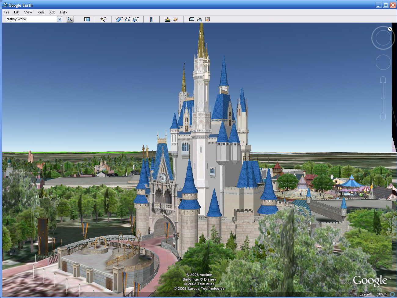As You Know, Google Earth Is A Pretty Amazing Wonder. As Described In Google  Lets You See Walt Disney World In 3D, 1500 3D Models Have Been Uploaded To  ...